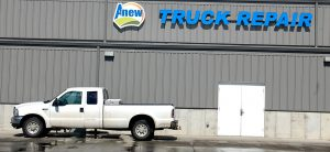 Anew Cambridge NE maintenance garage and wash bay