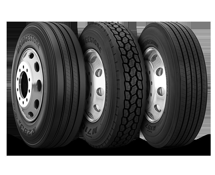 Anew Cambridge semi tires